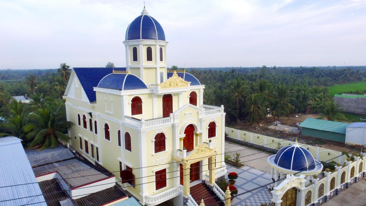 Lâu đài thông minh ở Tiền Giang